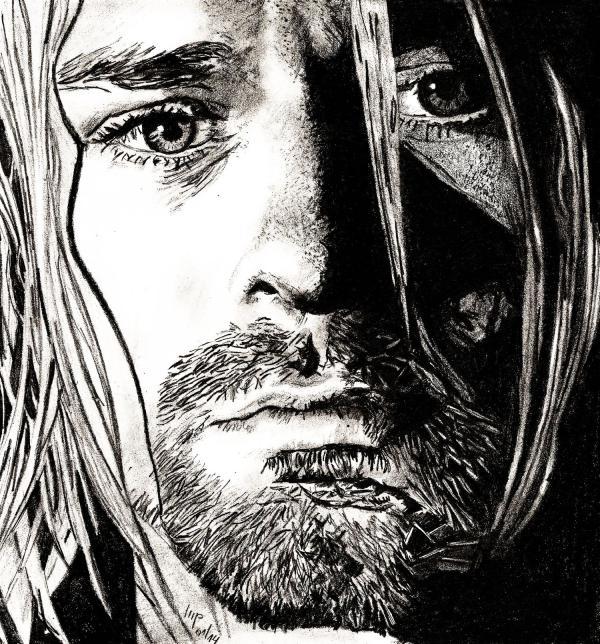Kurt Cobain by patrick